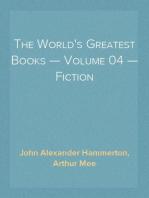 The World's Greatest Books — Volume 04 — Fiction