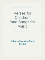 Verses for Children and Songs for Music