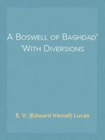 A Boswell of Baghdad With Diversions