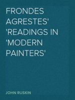Frondes Agrestes Readings in 'Modern Painters'