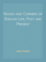 Nooks and Corners of English Life, Past and Present