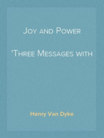 Joy and Power Three Messages with One Meaning