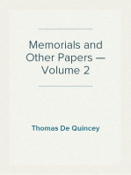 Memorials and Other Papers — Volume 2