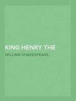King Henry the Fifth Arranged for Representation at the Princess's Theatre