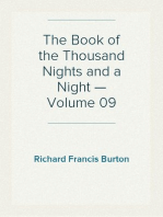 The Book of the Thousand Nights and a Night — Volume 09