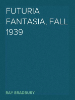 Futuria Fantasia, Fall 1939