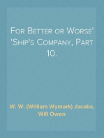 For Better or Worse Ship's Company, Part 10.