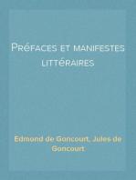 Préfaces et manifestes littéraires