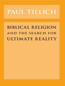 Biblical Religion and the Search for Ultimate Reality