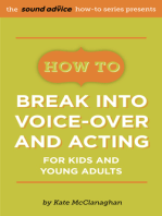 How To Break Into Voice-over and Acting for Kids & Young Adults