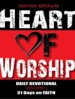 Heart of Worship Daily Devotional Vol. 1 - 31 Days on Faith