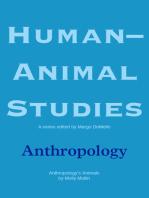 Human-Animal Studies: Anthropology