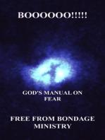 Boooooo!!!!! God's Manual On Fear.
