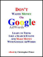 Don't Waste Money on Google AdWords