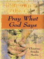 Pray What God Says