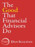 The Good That Financial Advisors Do