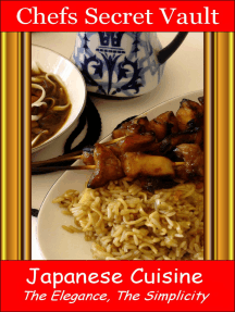 Japanese Cuisine: The Elegance, The Simplicity