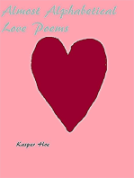 Almost Alphabetical Love Poems