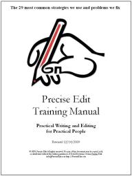 Precise Edit Training Manual