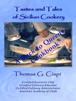 Tastes and Tales of Sicilian Cookery, A Back to Queens Cookbook