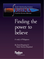 Finding the Power to Believe