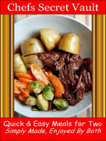 Quick & Easy Meals for Two