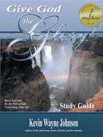 Give God the Glory! Study Guide