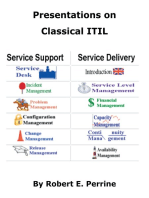 Presentations on Classical ITIL