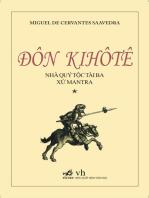 Đôn Kihôtê - Nhà quý tộc tài ba xứ Mantra (tập 1)
