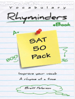 SAT Vocabulary Word Rhyminders