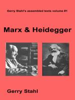Marx and Heidegger