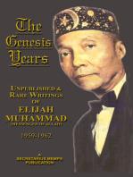 The Genesis Years