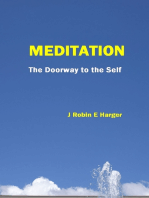 Meditation The Doorway To The Self