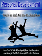 Develop A Successful Mindset