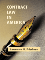 Contract Law in America