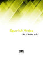 Spanish Verbs (100 Conjugated Verbs)