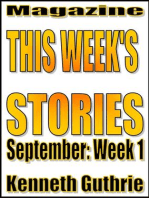 This Week's Stories (September, Week 1)