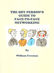 The Shy Person's Guide to Face-To-Face Networking