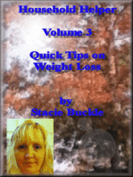 Household Helper Volume 3 Quick Tips on Weight Loss