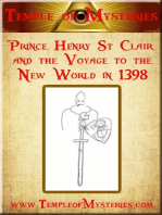 Prince Henry St Clair and the Voyage to the New World in 1398