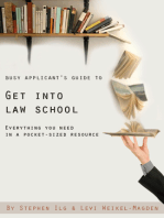 Busy Applicant's Guide to Get Into Law School