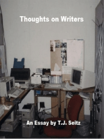 Thoughts On Writers