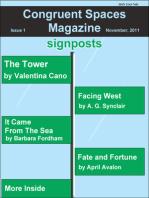 Congruent Spaces Magazine, Issue 1