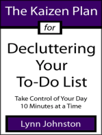 The Kaizen Plan for Decluttering Your To-Do List