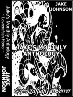 Jake's Monthly- Lovecraftian Horror Anthology