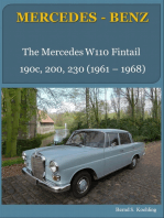 The Mercedes W110 Fintail