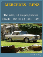 The Mercedes W111/W112 Coupes and Cabriolets