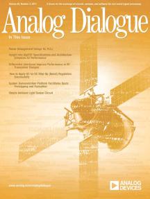 Analog Dialogue, Volume 45, Number 3