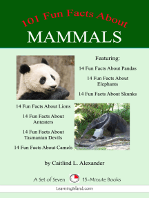 101 Fun Facts About Mammals: A Set of Seven 15-Minute Books