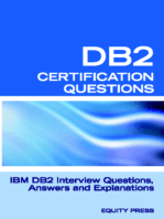 DB2 Interview Questions, Answers, and Explanations